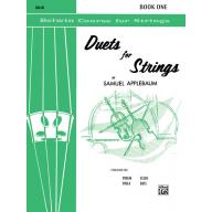 Duets for Strings,【Cello】Book 1