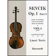 Ševčík Viola Studies Op.1 Part 2