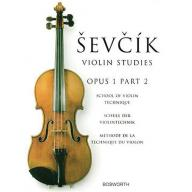 Ševčík Violin Studies Op.1 Part 2
