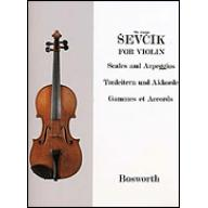 Ševčík Violin Studies : Scales and Arpeggios