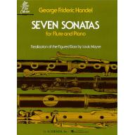 Handel-Seven sonatas for Flute and Piano