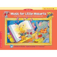 Music for Little Mozarts【Music Workbook】 1