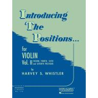 Introducing the Positions for Violin Vol. II