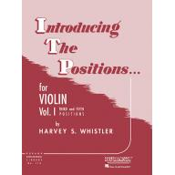 Introducing the Positions for Violin Vol. I