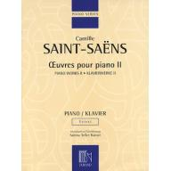 Saint-Saëns Piano Works II