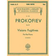 Prokofiev Visions Fugitives Op.22 for the Piano