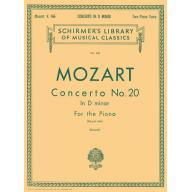 Mozart Concerto No.20 in D minor for 2 Pianos, 4 H...