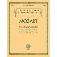 Mozart Three Piano Concertos (for 2 Piano, 4 Hands...
