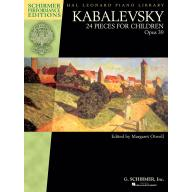 Kabalevsky 24 Pieces for Children Op.39