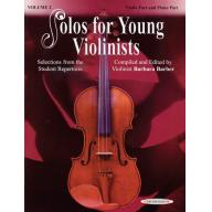Solos for Young Violinists Violin Part and Piano A...