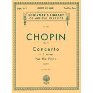 Chopin Concerto No.1 in E Minor, Op.11 for 2 Piano...