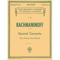 Rachmaninoff Concerto No.2 in C Minor, Op.18 for 2...