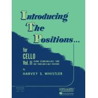 Introducing The Positions for Cello Vol. II